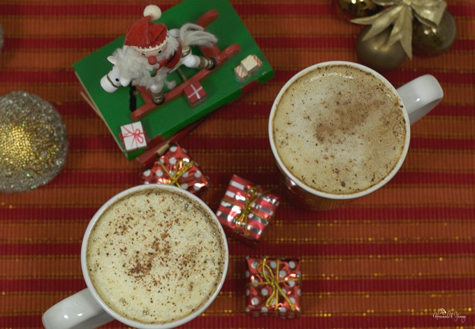 Rum and Eggnog Latte is a holiday classic….it just isn't Christmas without it! | homemadeandyummy.com