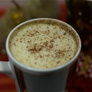 Rum & Eggnog Latte