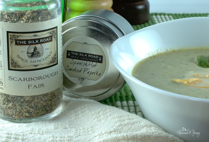 Picture of seasonings that were used in the recipe.
