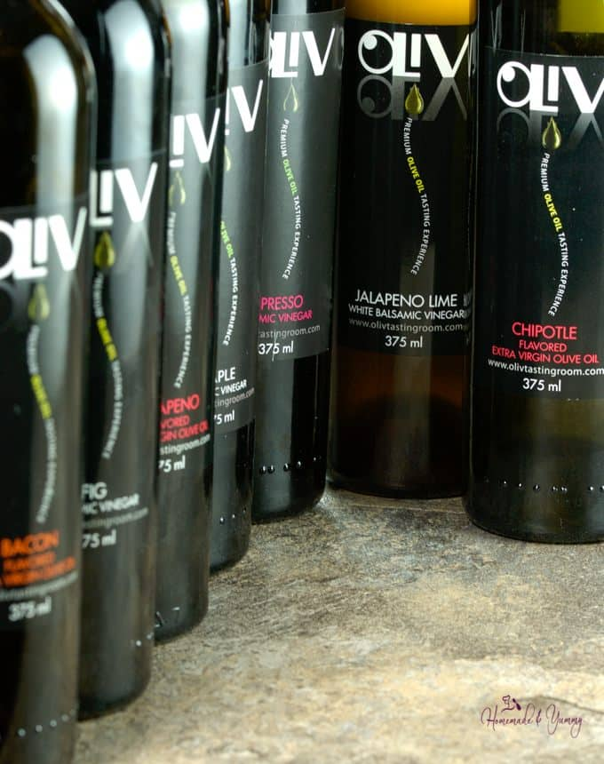 Images of Oliv products.