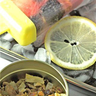 Blackberry Lemon Tea Pops
