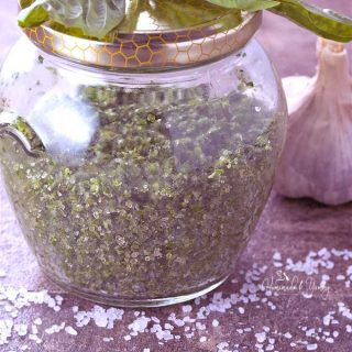 Homemade Fresh Herb Salt