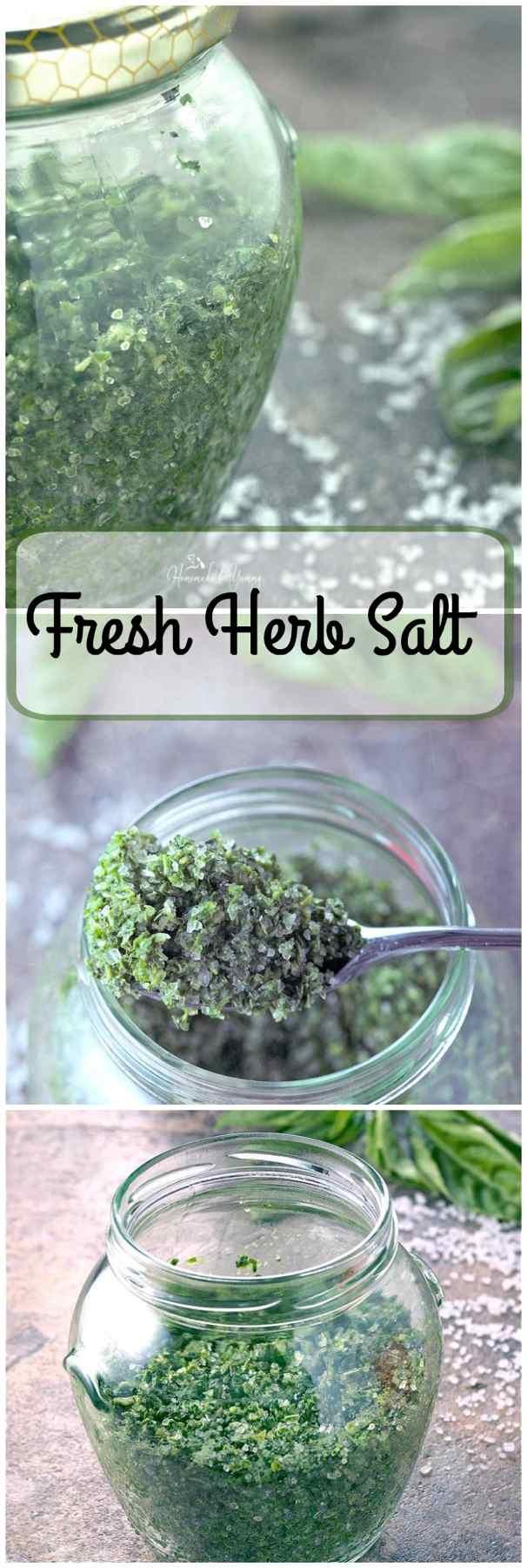 Fresh Herb Salt long pin image.