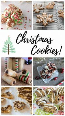 Smaller image of the Christmas Cookies collage.