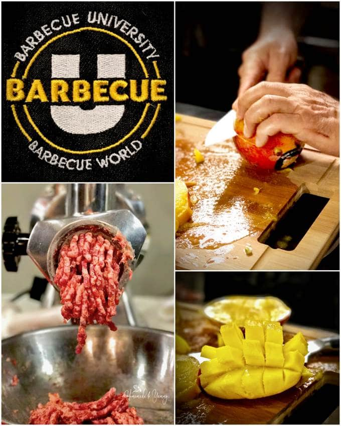 Barbecue World Cooking Classes: Barbecue U With the guidance of a professional chef, YOU do the cooking in this fun filled interactive cooking class. BONUS awesome dinner, no clean up. | homemadeandyummy.com