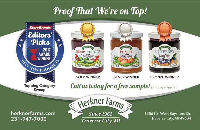 Herkner Farms Award Winning Fruit Drizzle Toppings