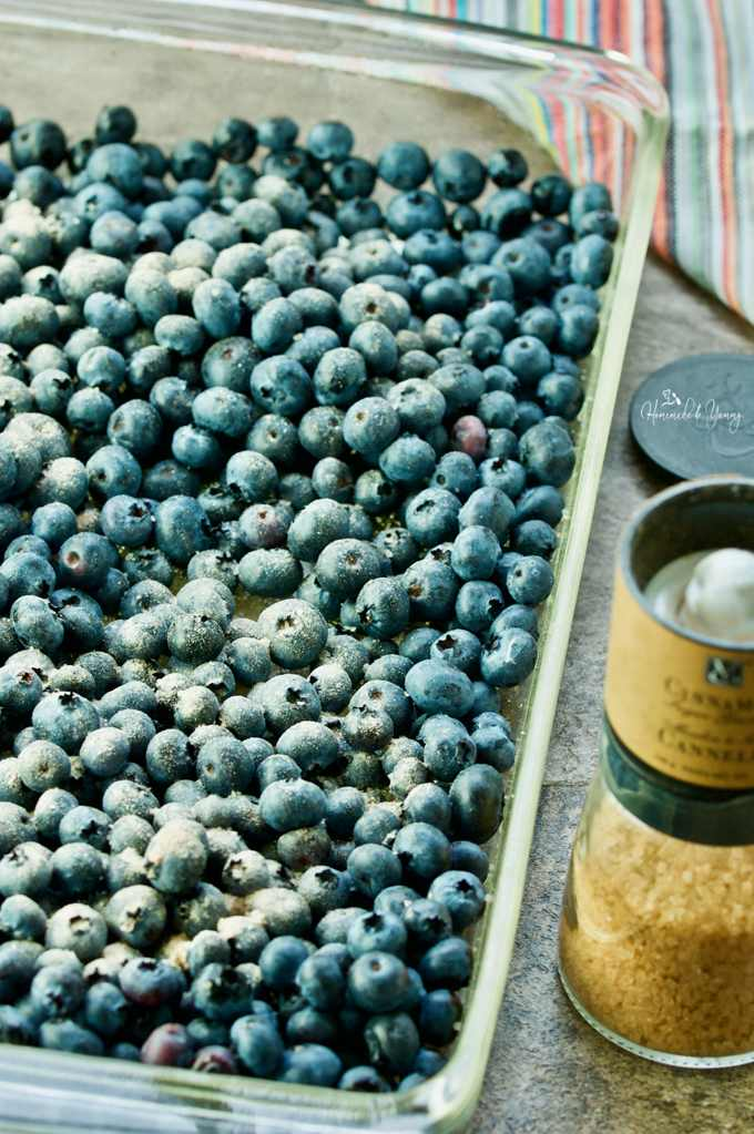 Roasted Blueberry Quinoa Breakfast Bowls are a healthy, nutritious and totally delicious way to get your morning stared.   homemadeandyummy.com