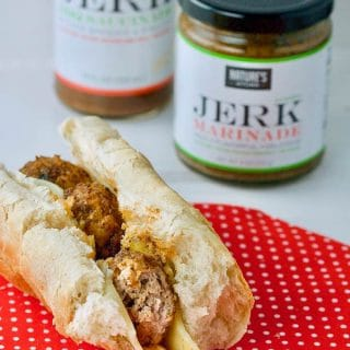 Double Jerk Turkey Meatball Sub (with Nature's Kitchen)