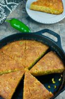 KK's Cheezy Cornbread is the perfect blend of corn, cheese and heat. If you like cornbread with a kick, this is for you.   homemadeandyummy.com