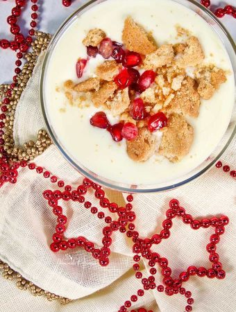 Classic Sabayon Recipe Elegant French Dessert a true gourmet delight. This egg yolk dessert is easier to make than you think. #sponsored #WoodbridgeWines #sabayon #sabayonsauce #sayabonrecipe #homemadeandyummy | homemadeandyummy.com