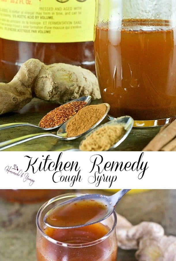 Kitchen Remedy Cough Syrup | Homemade