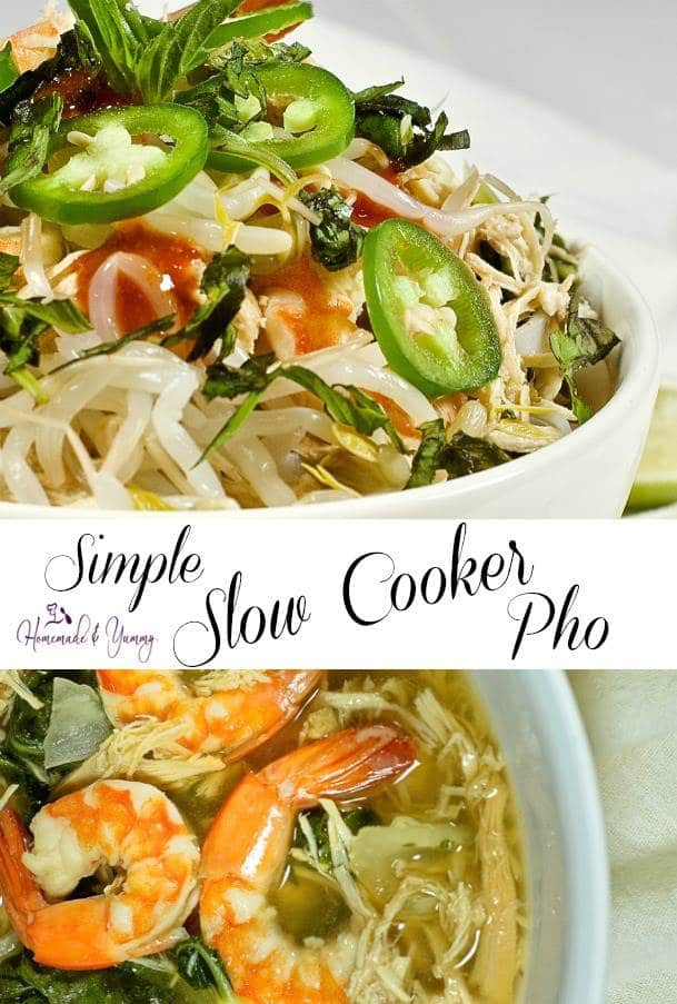 Simple Slow Cooker Pho Pin Image
