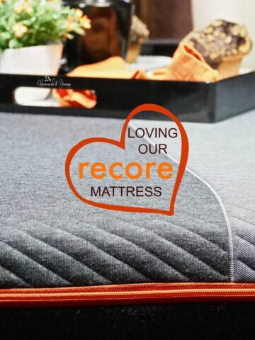 Brand influencer image of recore Best Bed In A Box For Us post.