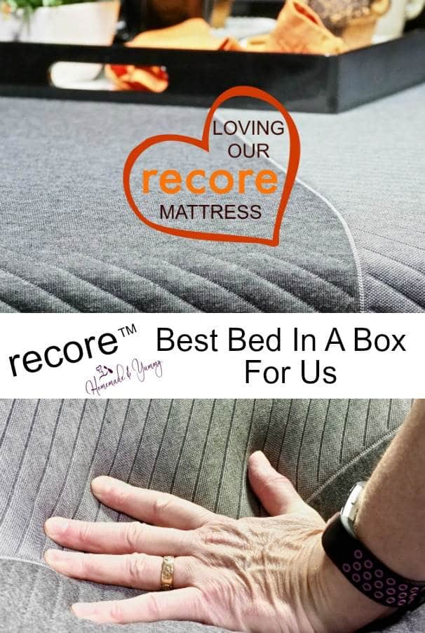 recore Beset Bed In A Box For Us pin image.