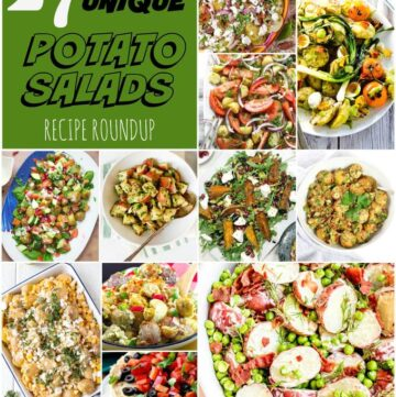 27 Potato Salads Roundup Collage
