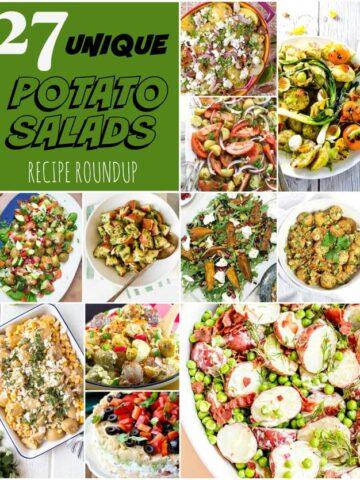 27 Potato Salads Roundup Collage