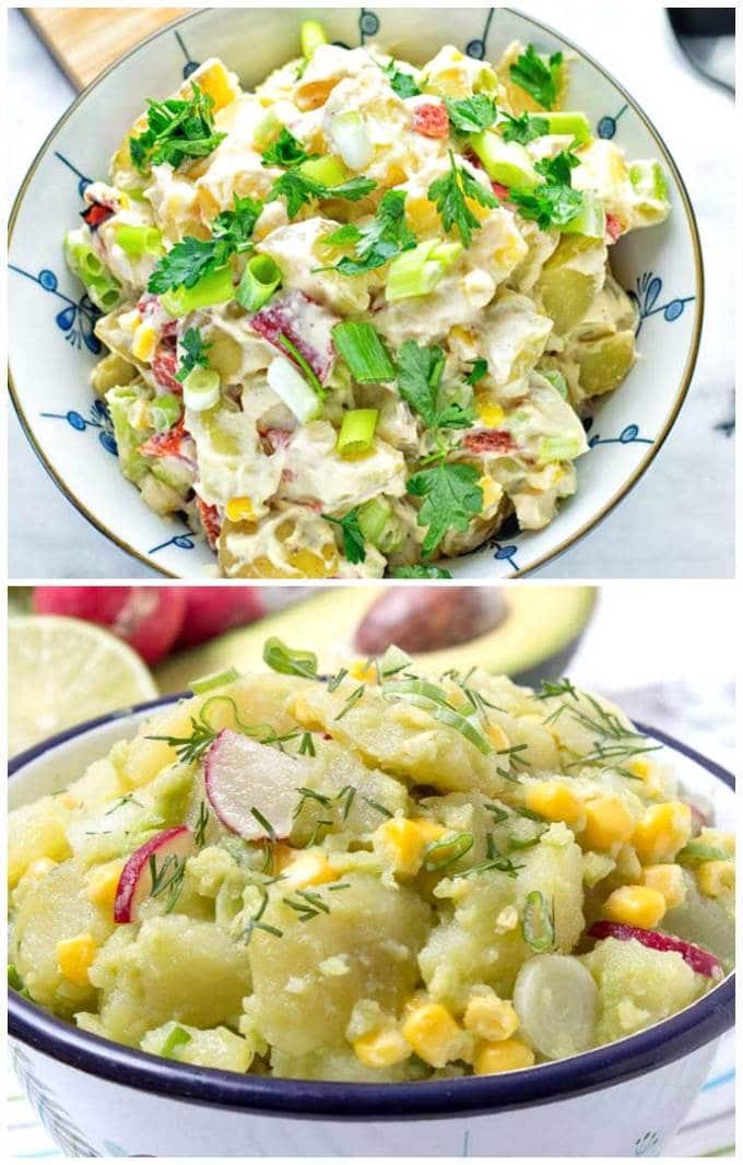 No Mayo Salad Options
