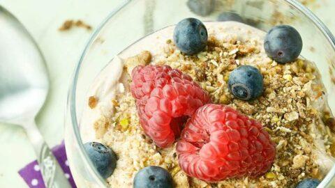 Healthy Mocha Coffee Yogurt Recipe Delicioius Anytime Of Day