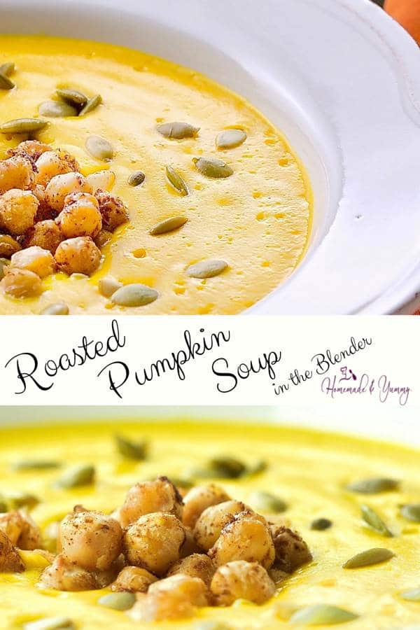 Easy Roasted Pumpkin Soup Image (2 of 2)