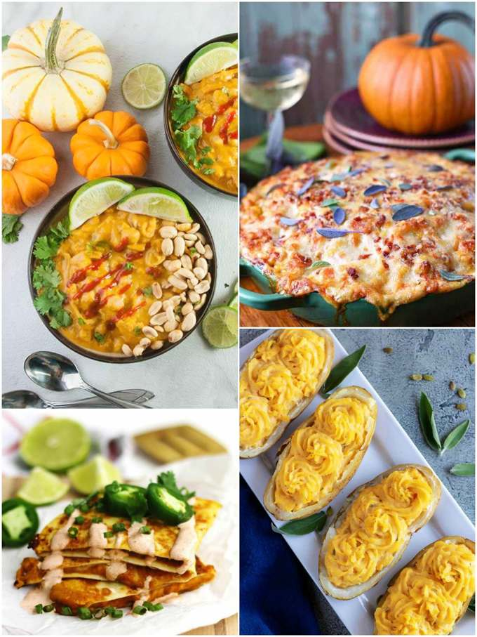 Pumpkin Dishes Recipe Roundup Savoury Collage
