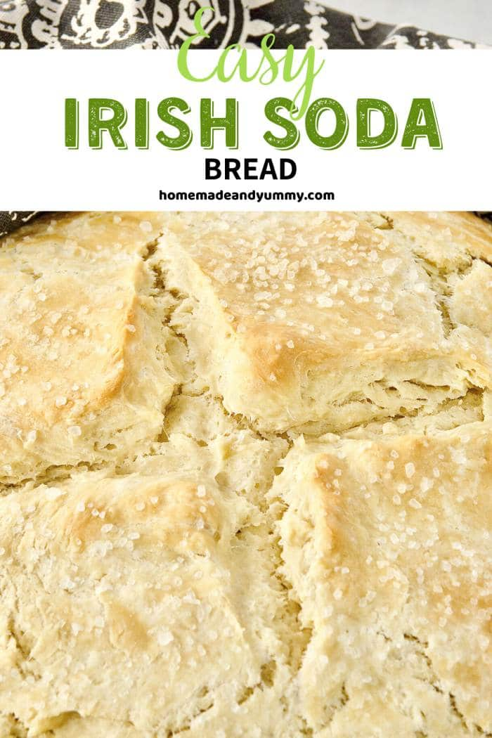 Irish Soda Bread New Pin Image