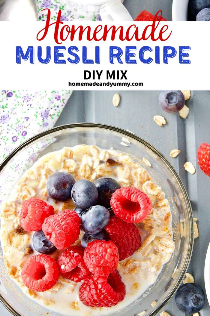 Homemade Muesli Pin Image