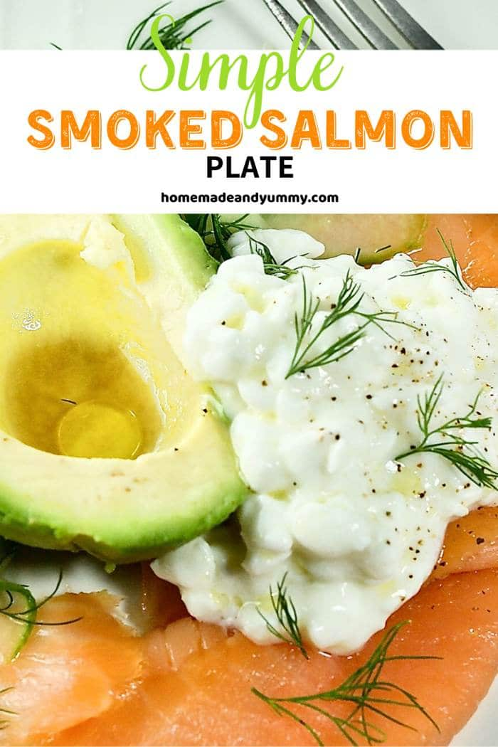 Smoked Salmon Plate New Pin Image