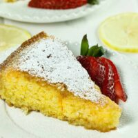 Polenta Cake Featured Image