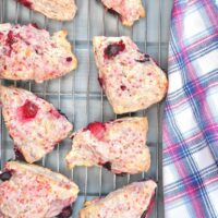 Mixed Berry Scones Featured Image