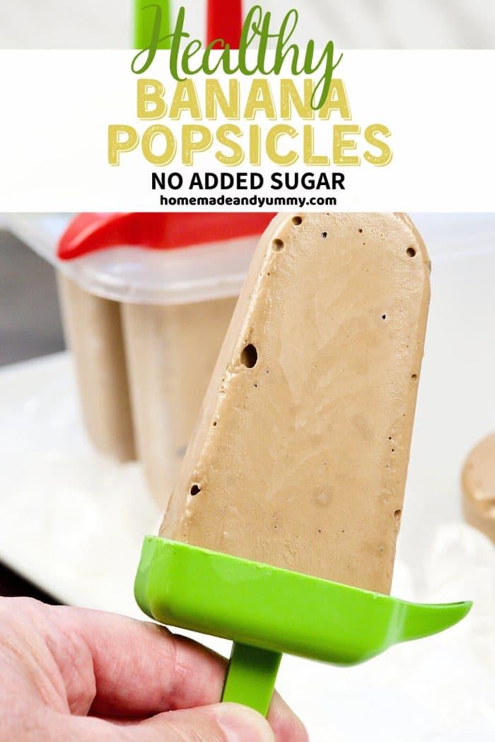 Banana Popsicles Pin Image