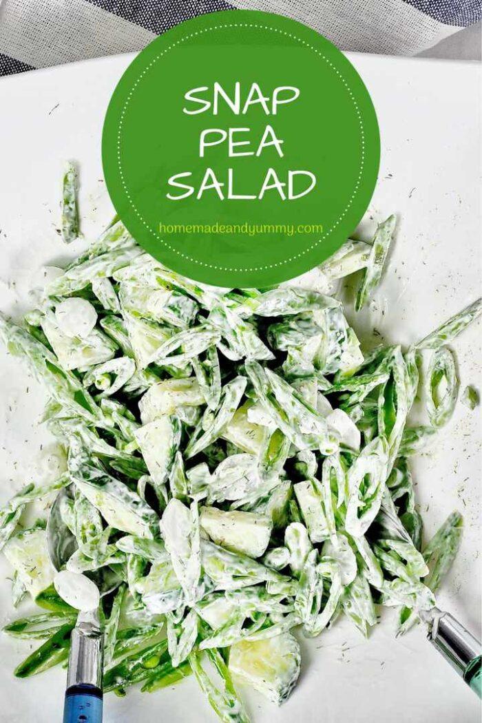 Snap Pea Salad Pin Imge