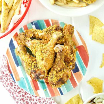 Crispy Chicken Drumsticks Featured Image