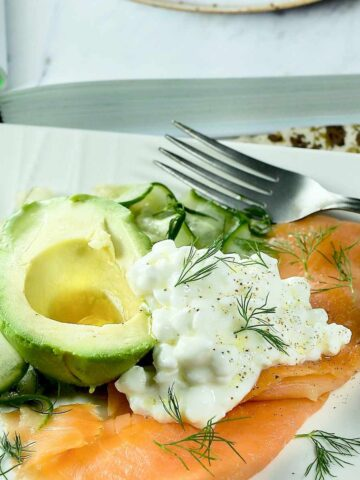 Smoked Salmon Dinner Featured Image