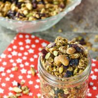 Festive Granola Featured Image