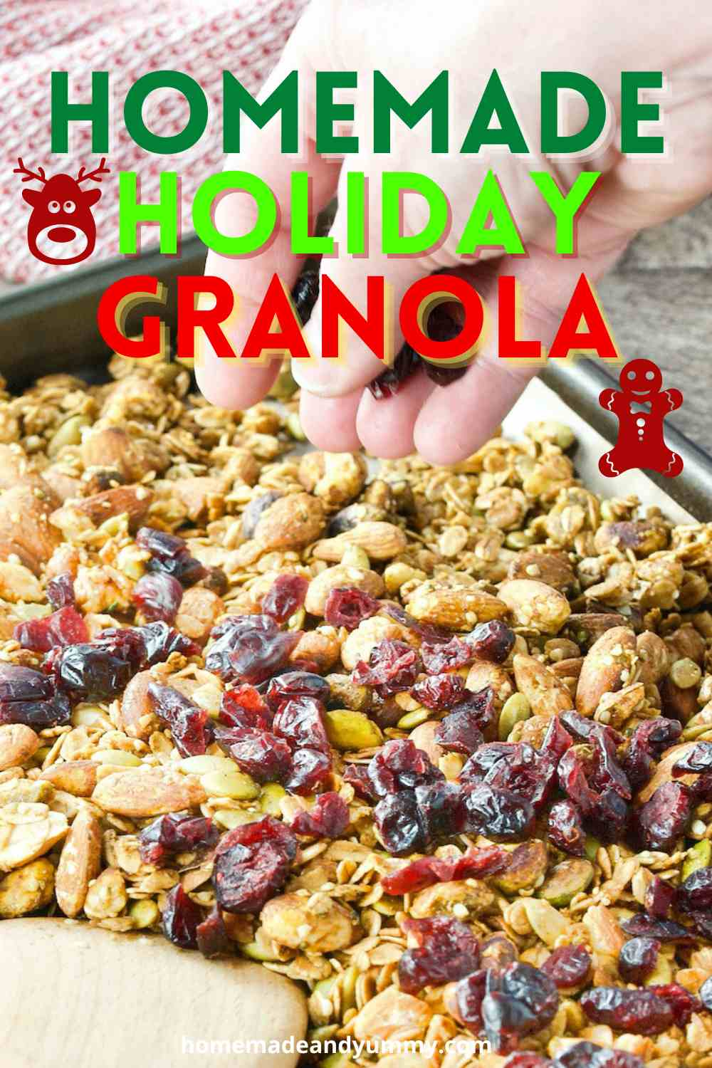 Holiday Granola Pin