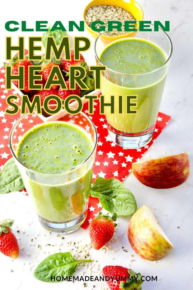 Hemp Smoothie Pin Image