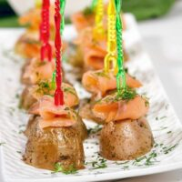 Smoked Salmon & Mini Potatoes Featured Image