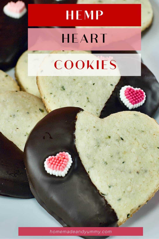 Hemp Heart Cookie Pin Image