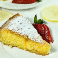 Lemon Polenta Cake Featured Image