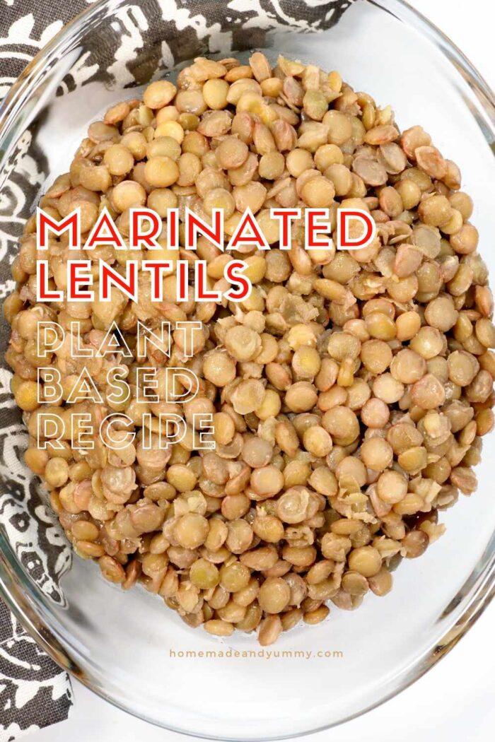 Marinated Lentils Pin