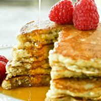 Oatmeal Kefir Pancakes Featured Image