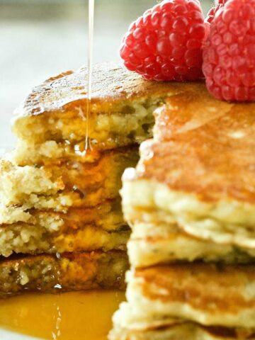 Oatmeal Kefir Pancakes Featured Image