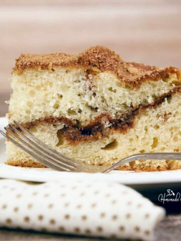 Featured Image for Cinnamon Coffee Cake