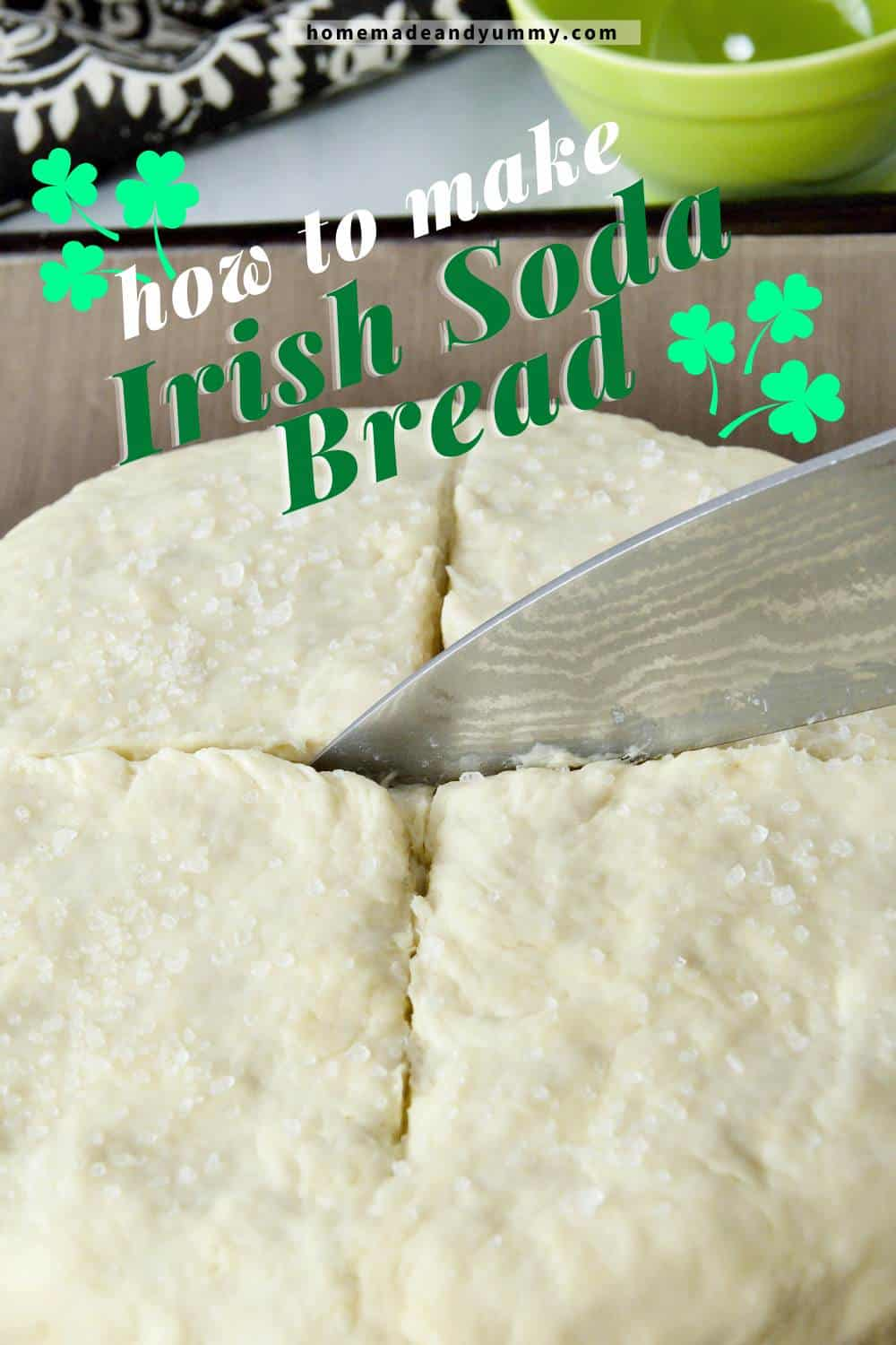 How To Make Irish Soda Bread Pin