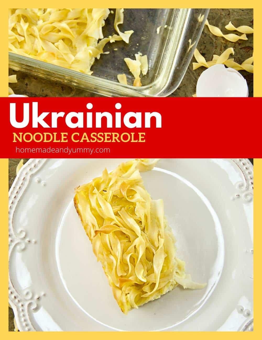 Noodle Casserole Pin Image