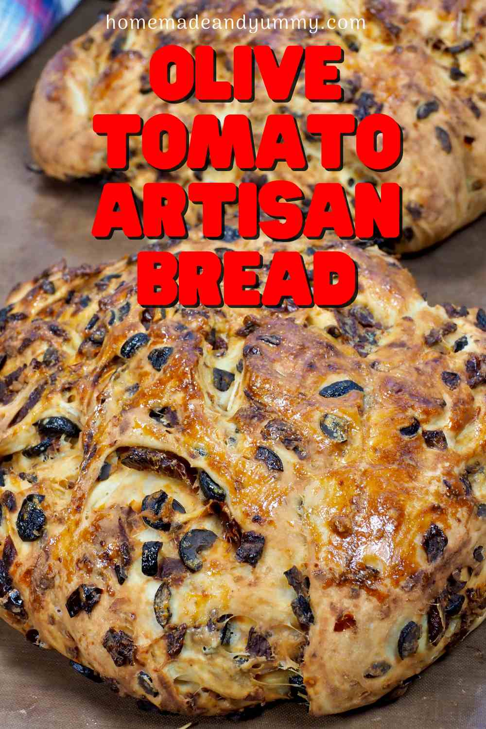 Olive Tomato Bread Pin copy