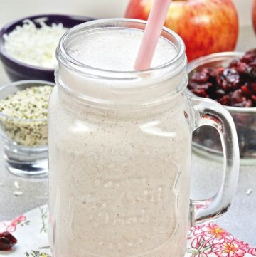 Cottage Cheese Smoothie Featured Image