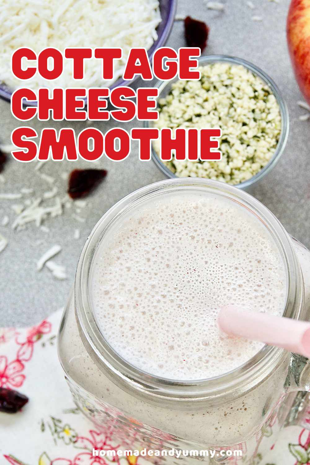 Cottage Cheese Smoothie Pin