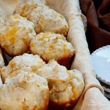 Savoury Cheddar Muffins Featured Image