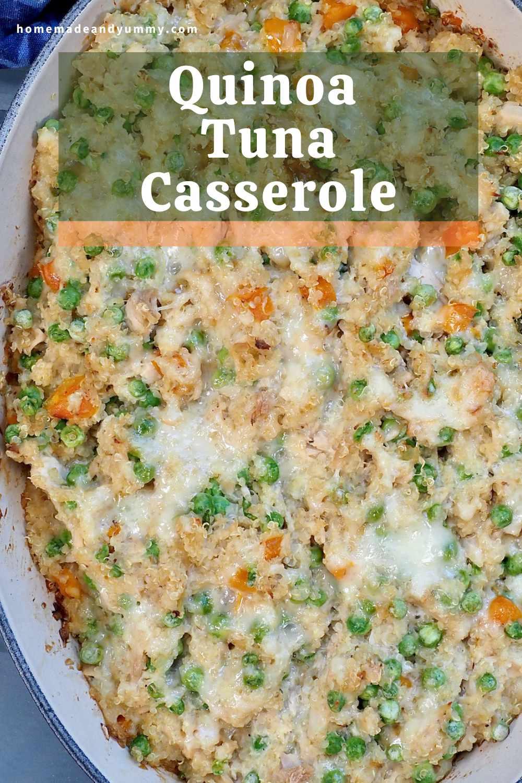 Quinoa Tuna Casserole Pin